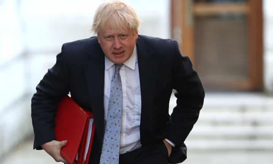 Boris Johnson, UK foreign secretary