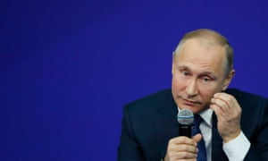 Russian president Vladimir Putin described the list as a 'hostile step' but the rankings were derided in diplomatic circles.