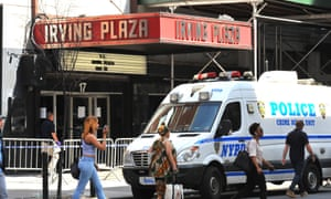 Prosecutors claim Troy Ave 'recklessly fired a gun five times in a crowded venue' during the concert at Irving Plaza on 25 May.