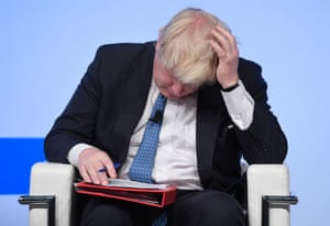 Rome, Italy: Boris Johnson