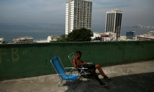 In Rio, local and foreign entrepreneurs are building hostels in favelas to cope with the influx of tourists.