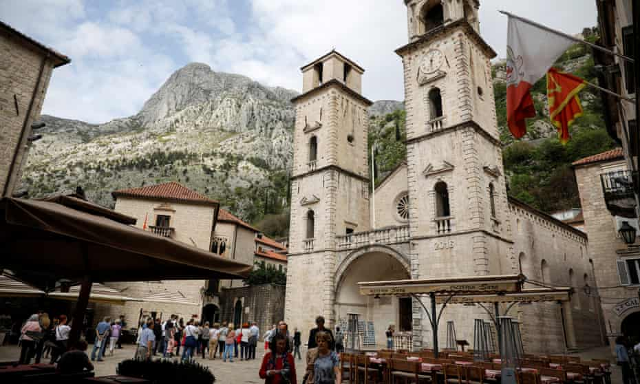 Old town of Kotor, Montenegro. Tourism in the country masks intense and organised crime.