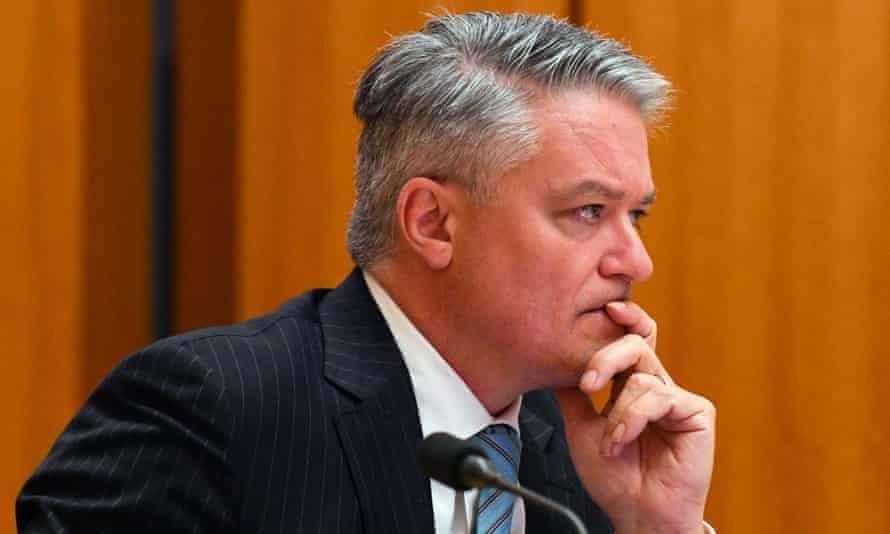 Former Australian finance minister Mathias Cormann