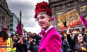 A recent Extinction Rebellion protest in Oxford Circus targeted fashion's toll on the environment.