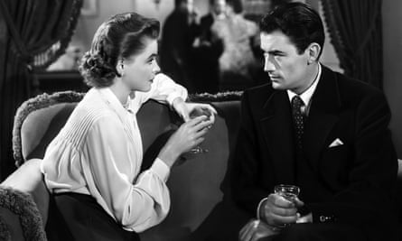 'A riveting movie, intriguing, a little exasperating, alternately naïve and very sharp, fascinating for what it puts in and leaves out' ... Dorothy McGuire and Gregory Peck in Gentleman's Agreement.