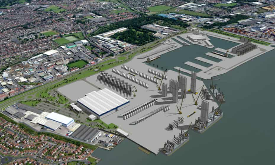 The £310m Siemens manufacturing hub in Hull will not be affected by the decision, and should begin producing blades and turbines next year.