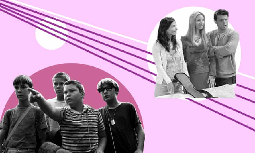 Stills from Stand By Me and Friends