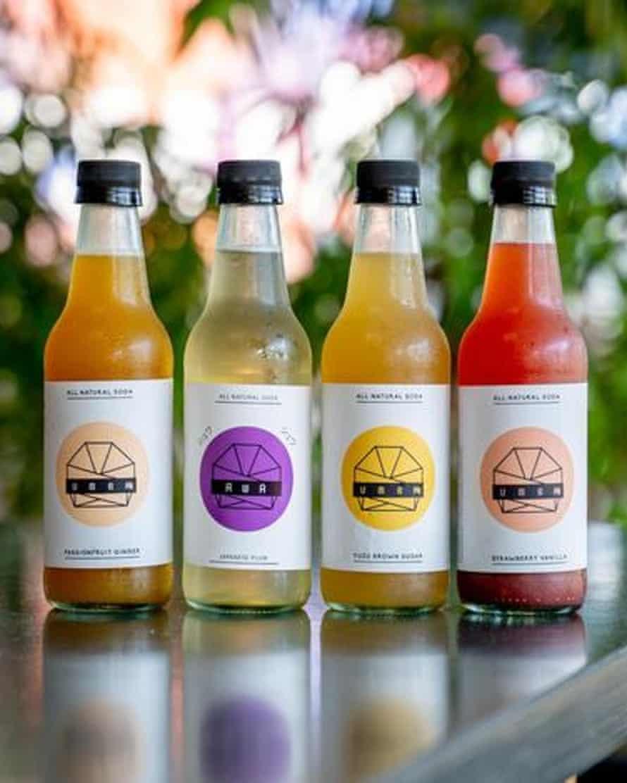 Ume Burger house-made natural sodas