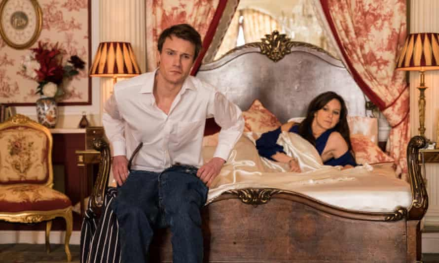 The Windsors: Prince William (Hugh Skinner) and Kate Middleton (Louise Ford).