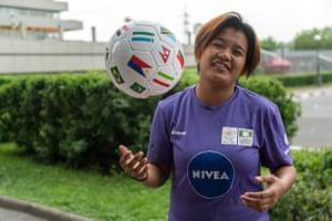 Ronalyn Lagata, 20, from Manila