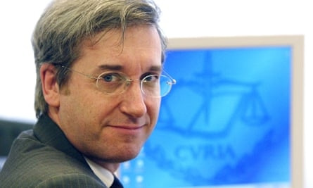 Hubert Legal,head of EU legal services.