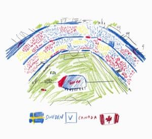 Sweden v Canada by Laylah Amarchih.