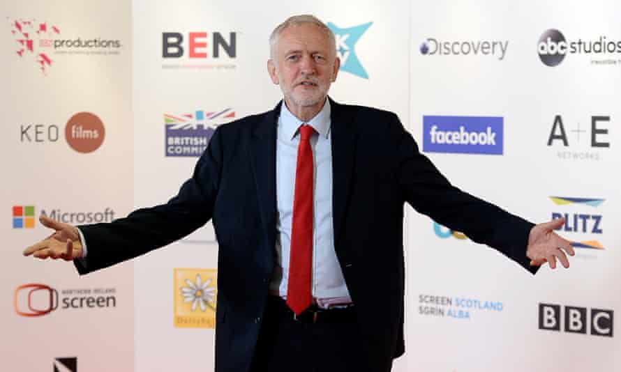Jeremy Corbyn at the Edinburgh International Television Festival