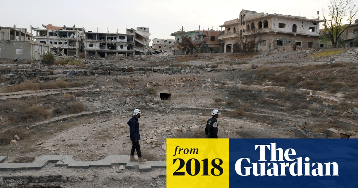 Syria's White Helmets call on UN to save trapped volunteers