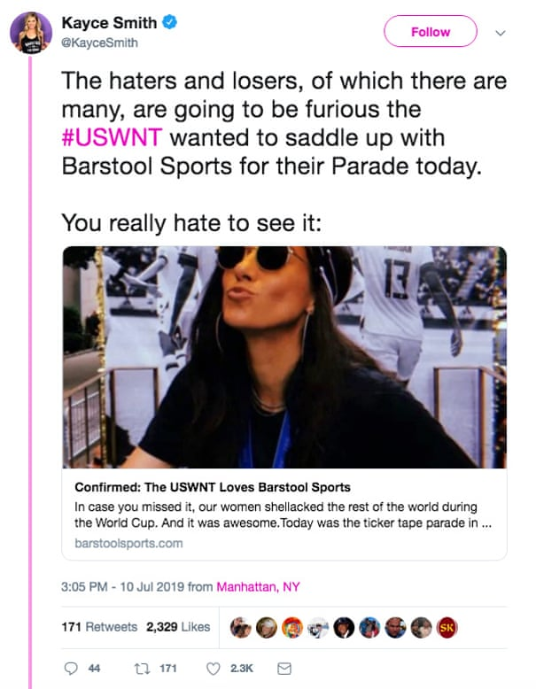 Christen Press's Barstool deal is a slap in the face to what
