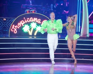 """Sean Spicer and Lindsay Arnold on """"Dancing with the Stars."""""""