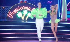 Sean Spicer on Dancing with the Stars: 'a neon parakeet with ruffles'?