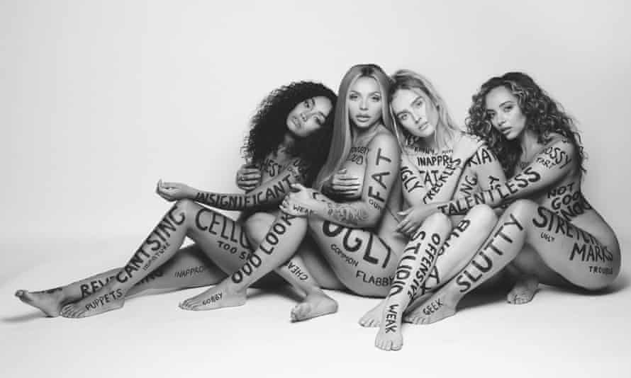 Little Mix's promotional shoot for their new single, Strip.