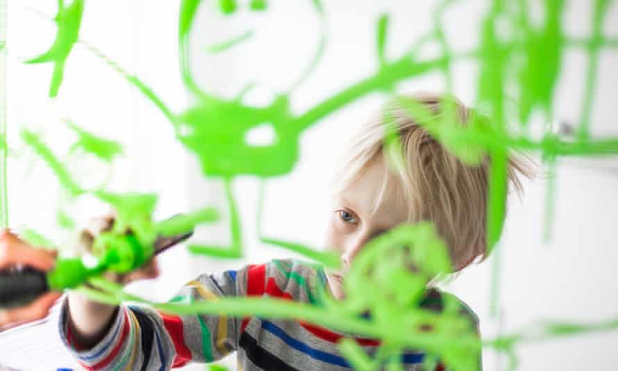 Does your child draw 'exceptional items'?