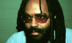 Pennsylvania death row inmate Mumia Abu-Jamal, seen here in a December 13, 1995 prison photo, was convicted in 1982 of murdering a Philadelphia policeman.
