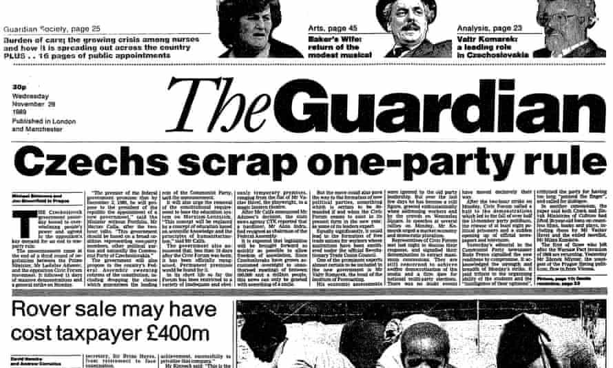 The Guardian, 29 November 1989.