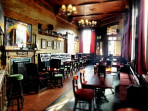 Interior of The Marble Arch, Manchester.