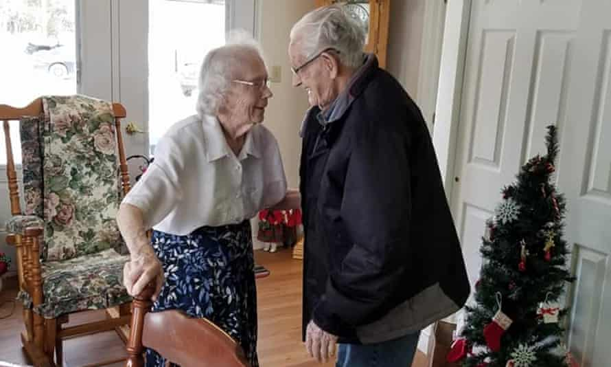 Herbert and Audrey Goodine have been told they will have to live apart for the first time in 70 years.