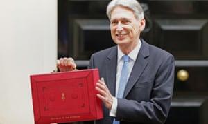 Philip Hammond on budget day