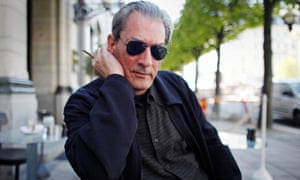 Paul Auster whose novel City of Glass features a 'badly behaved' character called … Paul Auster.