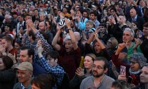 A Momentum rally in Brighton