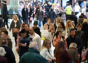 Shoppers hunt at West Quay Shopping Centre, Southampton