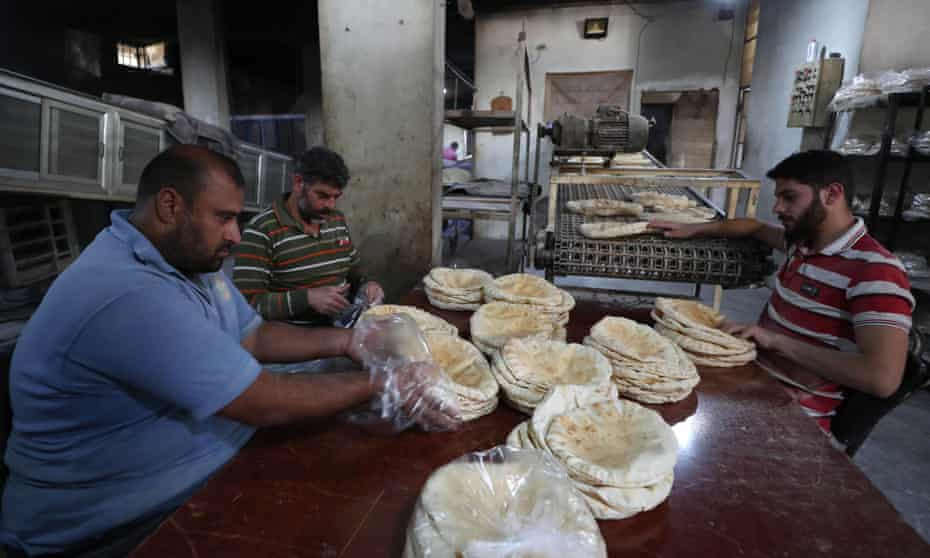 Bakery in Syria