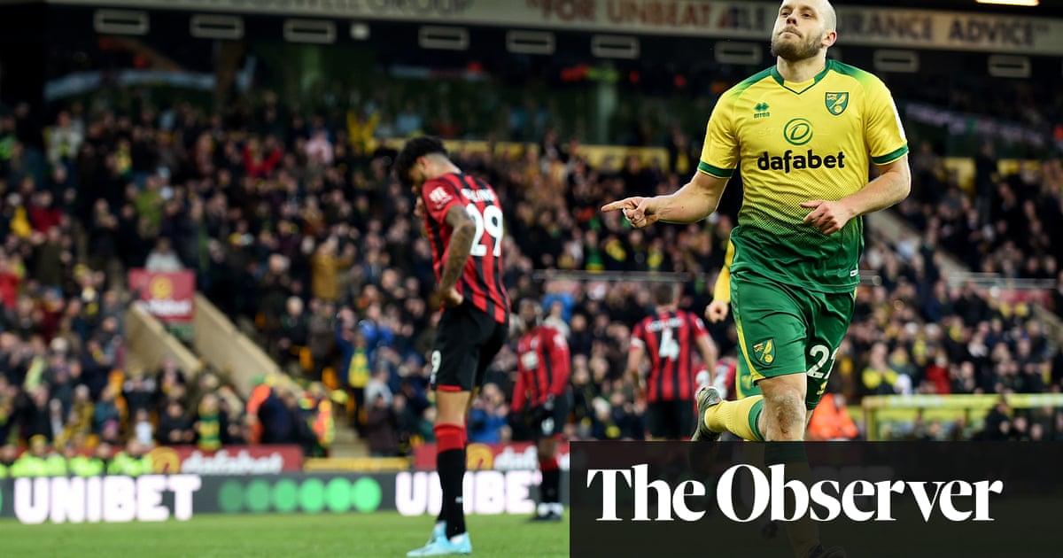 Steve Cook hands Teemu Pukki a penalty as Bournemouth woes deepen
