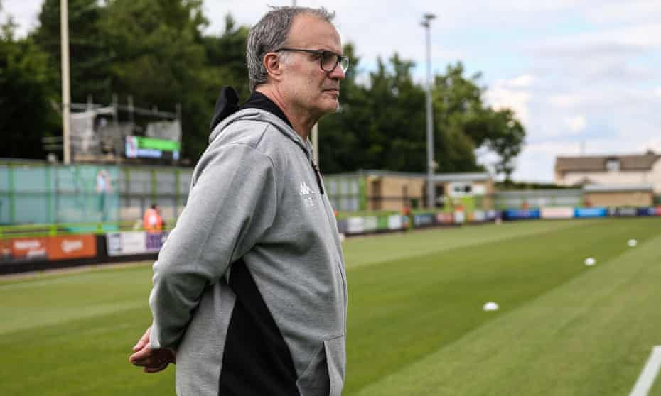 Marcelo Bielsa takes charge of Leeds United for the first time against Stoke City on Sunday.