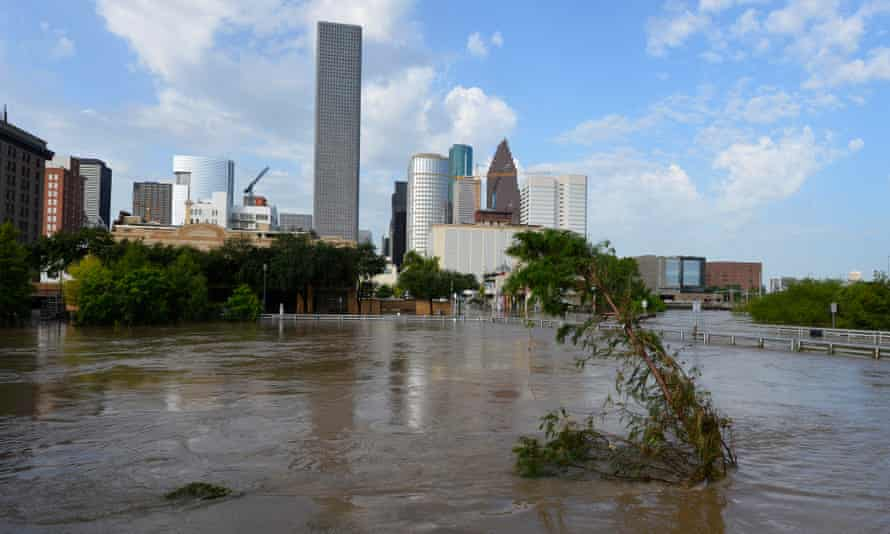 'The truth is that most of the flooding in Houston is manmade.'