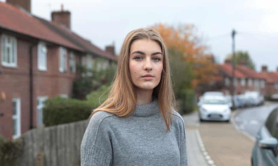 .Olivia Nosal-Charowska South-east London ( PROJECT KID ) 15-10-2020 Photograph by Martin Godwin.