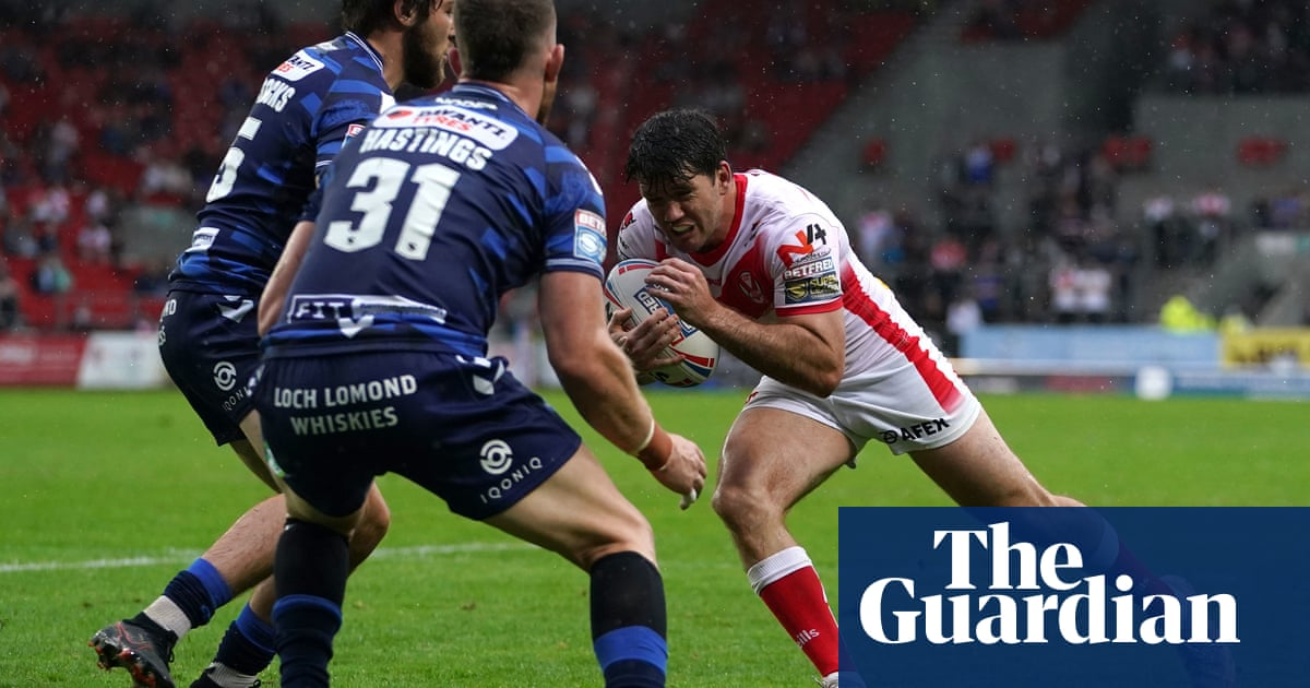 Lachlan Coote imperious as St Helens beat Wigan and close on leaders