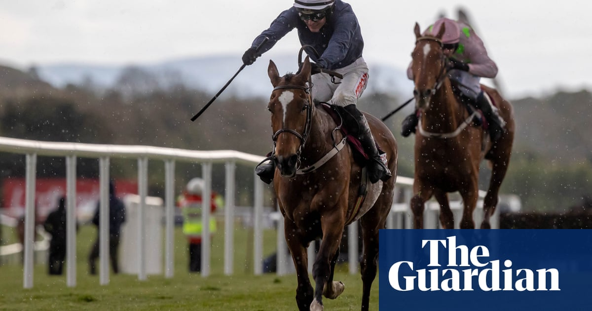 Colreevy tears up script in Champion Novice Chase at Punchestown