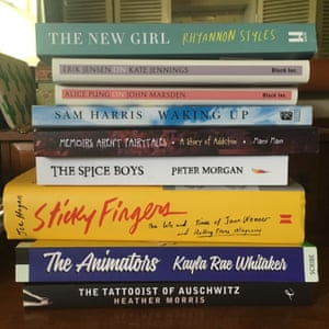 Jenny Valentish's summer reading stack for 2017/2018 Summer Reading