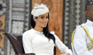 Heads up… Meghan, Duchess of Sussex in Fiji.