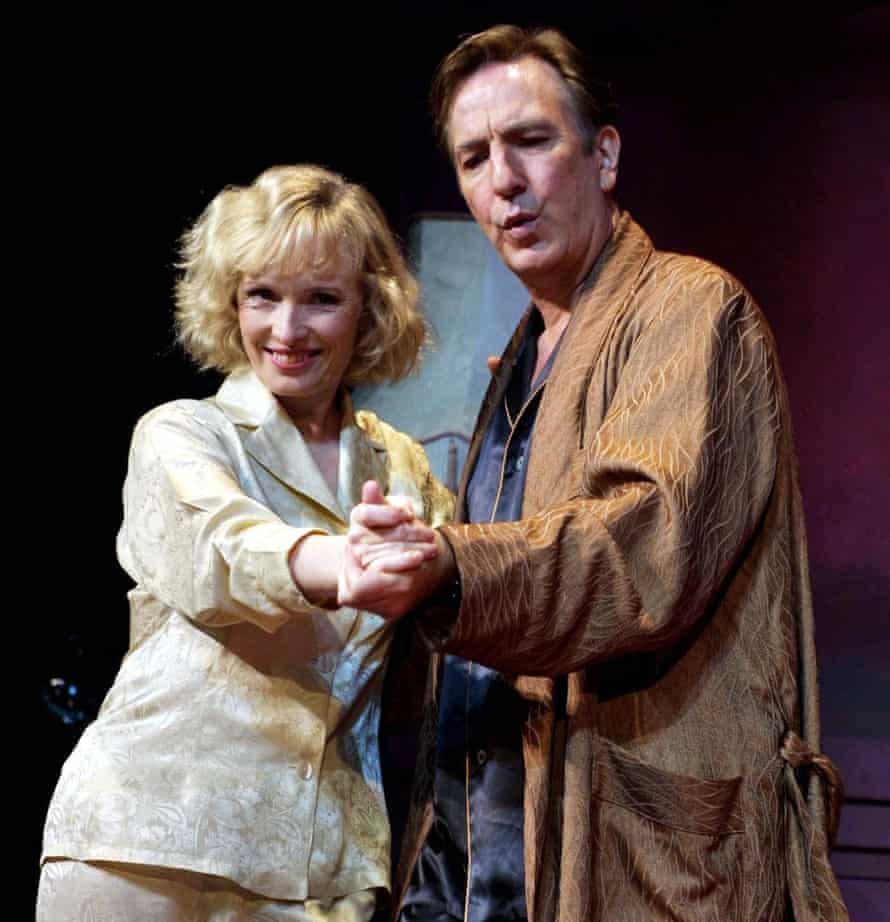 Alan Rickman and Lindsay Duncan in 'Private Lives'
