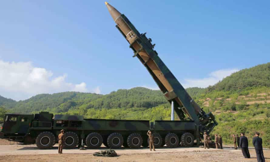 """""""It now appears that a significant portion of the continental United States is within range"""" of North Korean missiles, said Bruce Klingner, a former Korea analyst for the CIA."""