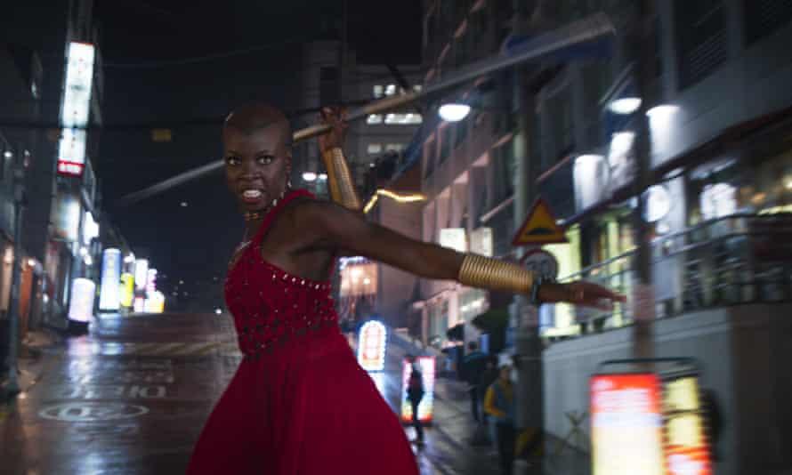 Danai Gurira (Okoye) in Black Panther