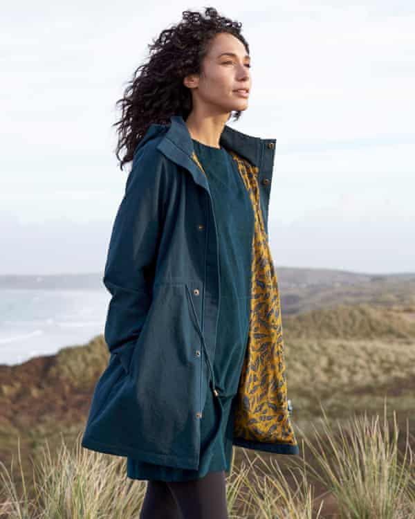 Nomads clothing (autumn 2019) … pioneers in sustainability, producing organic cotton clothes.