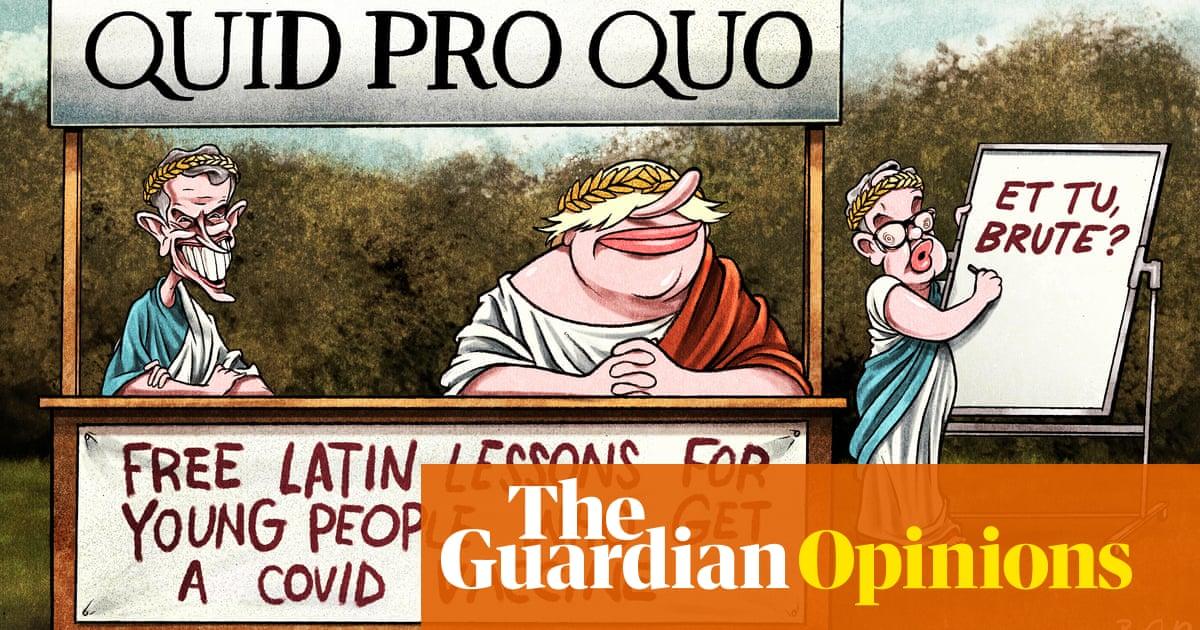 Ben Jennings on Latin and vaccines – cartoon
