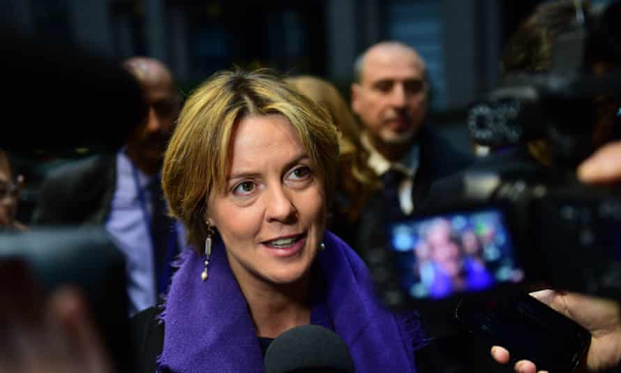Italian health minister Beatrice Lorenzin