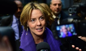 Italy's health minister, Beatrice Lorenzin, who has called for investigations into the deaths of four heavily pregnant women.