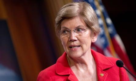 The progressive senator Elizabeth Warren has been touted as a possible treasury secretary or attorney general.