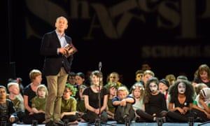 Nicholas Hytner at the 2014 Shakespeare Schools Festival. The director's production of Othello at the National Theatre taught us a lot about empathy, says Peter Bazalgette.