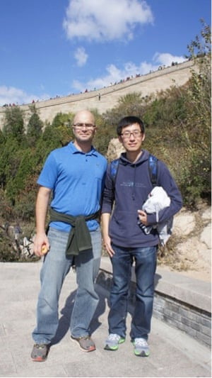 Me and my colleague Dr. Lijing Cheng in China.